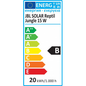 Neon JBL SOLAR REPTIL JUNGLE 18 W (9000K)/UV-A 2%/UV-B 0.5%