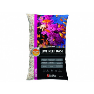 Red Sea Live Reef Base-Pink 0.5-1mm/10Kg