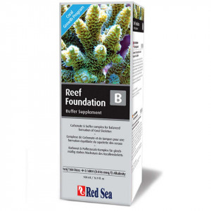 Tratament apa marina Reef Foundation B (Alk) - 500 ml - RED SEA