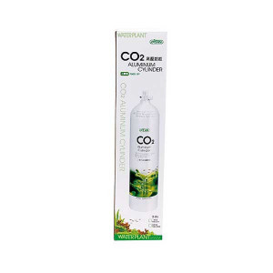 Butelie CO2 Aluminu 3L Premium, iesire laterala-Aluminium CO2