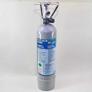 Butelie reincarcabila de CO2 JBL ProFlora m2000 silver