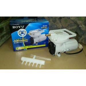 Compresor aer acvariu/iaz BOYU la 12V 38L/min