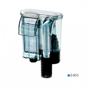 Filtru cascada ultra subtire, 280L/H, 185x85x150mm, valva anti retur-Hang-On Filter