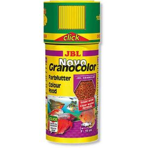 Hrana granule pentru toate speciile JBL NovoGranoColor Click 250ml