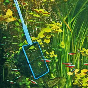 Minciog JBL PREMIUM Fishing Net black/fine 20 cm