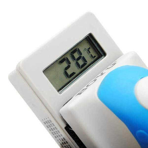 Razuitor magnetic cu termometru electronic 114x47x75mm - BOYU