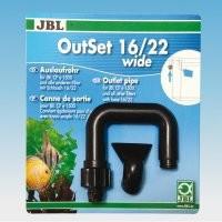 Set refulare filtru acvariu JBL OutSet wide 16/22 pentru filtre CristalProfi e1500/1/2