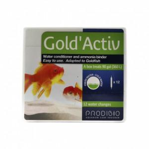 Solutie tratare apa Prodibio Gold Activ 12 fiole
