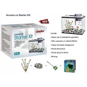Acvariu Starter Kit 21 litri