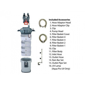 Filtru extern acvariu Aqua Pro 2200 cu UV 9W