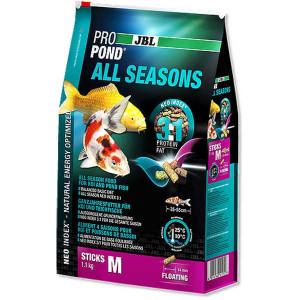 Hrana pesti iaz ,pentru toate anotimpurile JBL ProPond All Seasons M 1,1kg