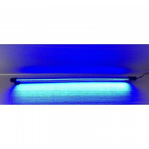 Lampa LED cu lumina albastra iaz/acvariu 60 cm