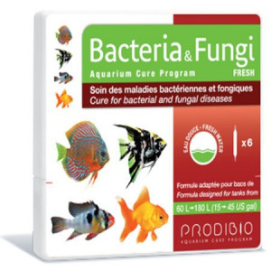Medicament pesti acvariu Bacteria&Fungi Fresh 6 fiole - PRODIBIO