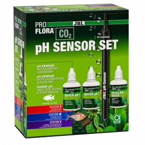 Senzor pH cu solutii calibrare JBL PROFLORA CO2 pH SENSOR SET