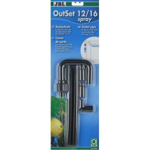 Set refulare cu tevi spray pentru filtru acvariu JBL OutSet spray 12/16 (CP e700/900)