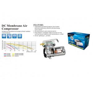 Compresor aer pentru acvariu/iaz BOYU la 12V 70L/min-ACQ-903