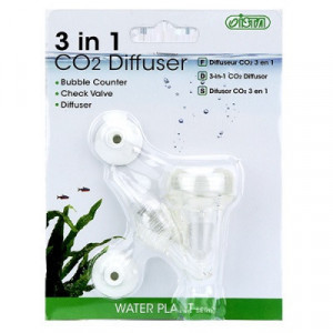 Difuzor CO2 Acvariu 3 in 1 compact V acrilic S, I-549