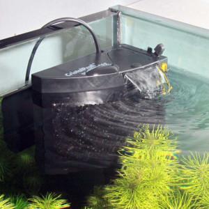 Filtru intern acvariu JBL CristalProfi M destinat crevetilor.
