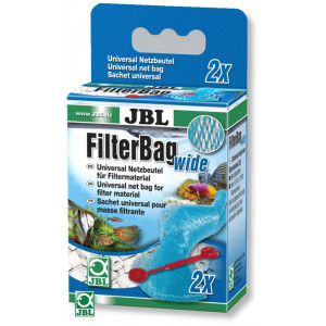 Saculet material filtrant aacvariu JBL FilterBag wide (2x)