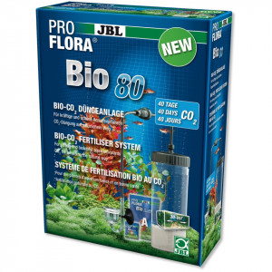 Sistem CO2 acvariu JBL ProFlora bio80 2 (BioCO2 Reusable)