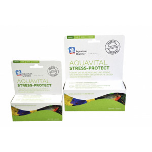 Solutie tratare apa Aquarium Munster Aquavital Stress Protect 100 ml pentru 500 l Fresh/Marin
