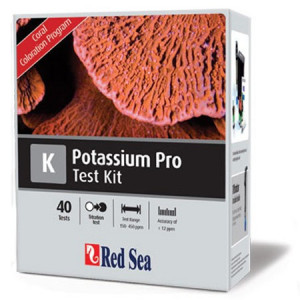 Teste apa marina Potassium Pro - Titrator Test Kit - RED SEA