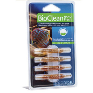 Tratament apa acvariu Bio Clean Nano apa dulce/4 fiole - PRODIBIO