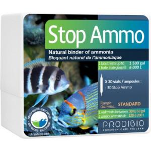 Bacterii ciclare acvariu Stop Ammo 30 fiole - PRODIBIO