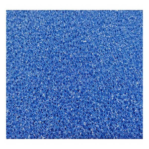 Burete JBL Blue filter foam coarse pore 50x50x2,5cm