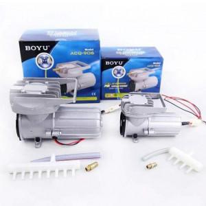Compresor aer acvariu/iaz BOYU la 12V 120L/min