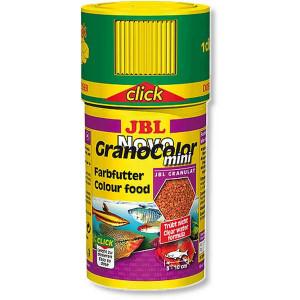 Hrana granule pentru toate speciile JBL NovoGranoColor mini 100ml Click