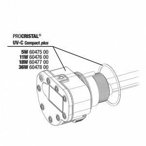 JBL Unitate Electrica ProCristal UV-C Compact Plus 11W