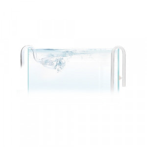 Lily pipe sticla, SET Inflow/Outflow -16 mm /Glass Inflow and Outflow Pipe