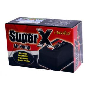Pompa aer acvariu cu o iesire Super Pump - CLASSICA