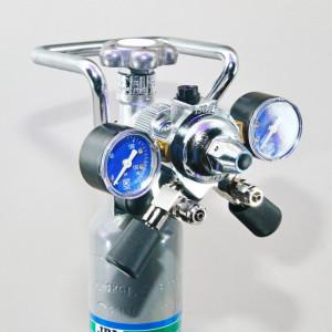 Reductor CO2 acvariu JBL ProFlora m001 duo/regulator de presiune ptr. 2 acvarii
