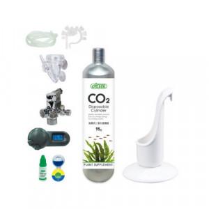 Set CO2 Premium, butelie nano 95gr unica folosinta, controller presiune cu valva solenoid Germania, 3in1 difuz