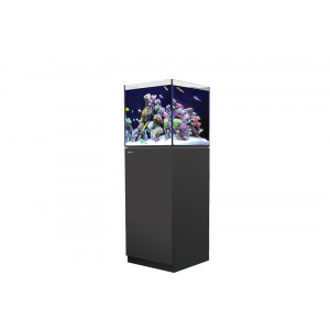 Acvariu Reefer Nano/ 77L Display+28L Sump - Negru