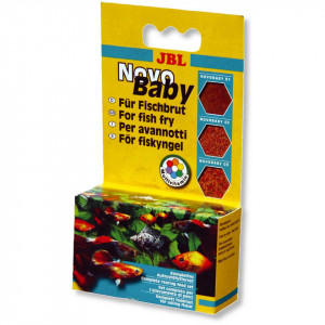 Hrana pesti acvariu JBL NovoBaby 3x10 ml
