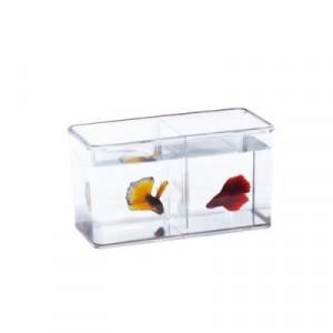 Mini acvariu dublu - Betta Fish Double Display Case