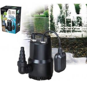 Pompa submersibila acvariu/fantana arteziana 6500 L/H cu senzor de nivel - BOYU