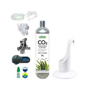 Set CO2 Profesional, butelie nano 95gr, unica folosinta,controller CO2, 2 manometre, valva solenoid Germania,C39