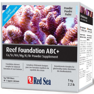 Supliment marin RED SEA Reef Foundation ABC+ - 1kg