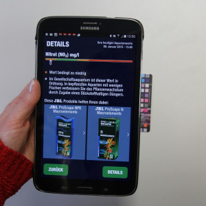 Test apa acvariu JBL Proscan (Laborator testere pentru smartphone 7 Teste)