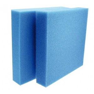 Burete placa Amtra Blue acvariu / iaz 50 X 50 X 5 cm porozitate mica ( 30 PPI )-A3050080