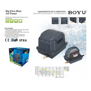 Compresor aer acvariu/iaz BOYU 30L/min (SES-30)