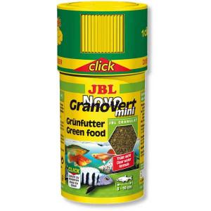 Hrana granule pentru erbivori JBL NovoGranoVert mini 100ml Click