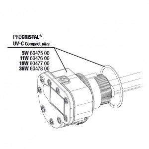 JBL Unitate Electrica ProCristal UV-C Compact Plus 5 W