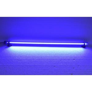 Lampa iluminare LED 30 cm albastra