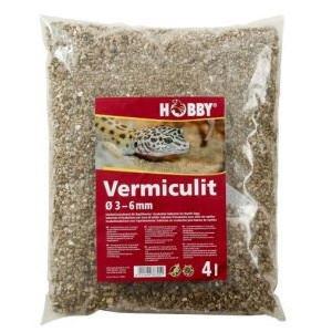 Vermiculit Ø 3 - 6 mm, 4 l