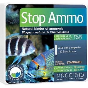 Bacterii ciclare acvariu Stop Ammo 12 fiole - PRODIBIO